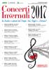 Poster Concerti Invernali 2017