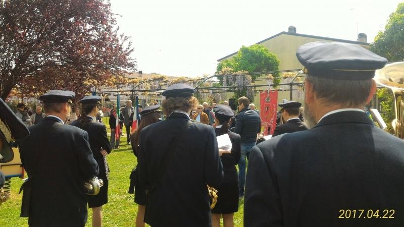 22 aprile 2017, intitolazione Nello Menotti