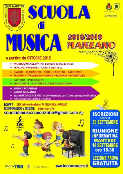 Presentazione Scuola di Musica