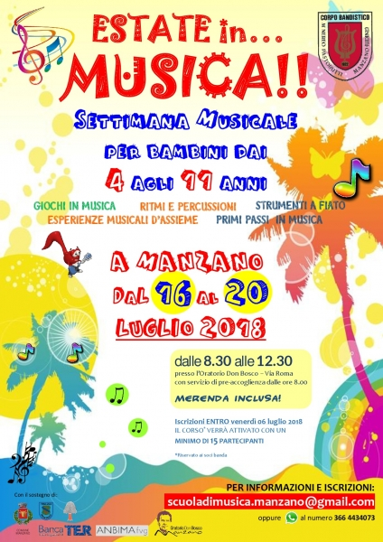 Estate in… musica 2018!!