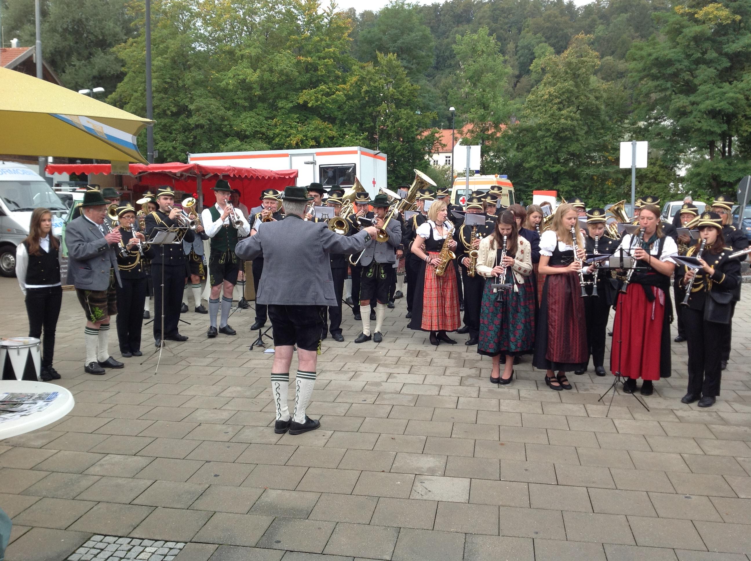 Wolfratshausen 2014, il concerto in piazza