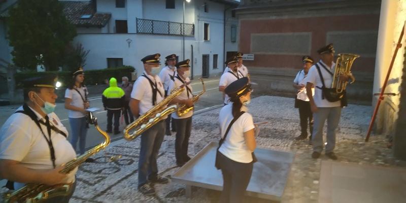 Processione della IV d'Agosto ad Oleis