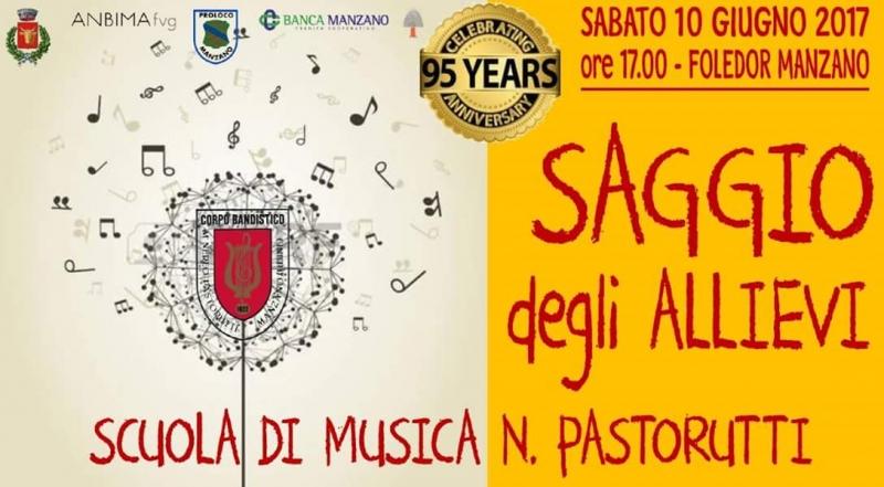 """Saggio della Scuola di Musica """"N. Pastorutti"""""""